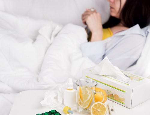 Помощь организму во время простуды