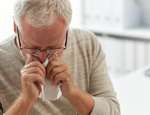 Частые болезни носа и горла зимой