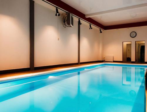 Официальное открытие плавательного бассейна