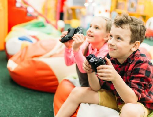 Все для ребенка: площадка, кинозал и приставка