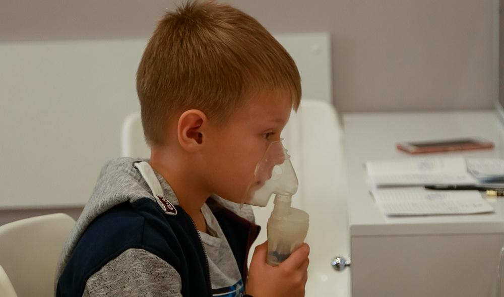 Применение небулайзера у детей