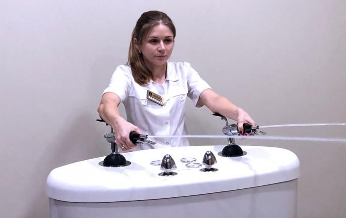 Душ Шарко: средство лечение неврозов и целлюлита