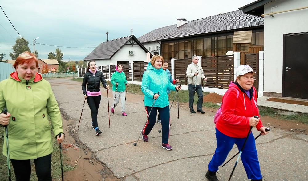 Скандинавская ходьба: правила и техника движений