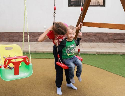 Подвижные игры в Бузулукском Бору